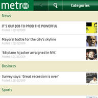 Symbian metro freeware