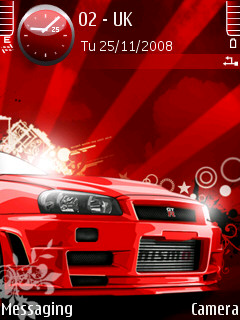 Nissan Skyline Vector Theme