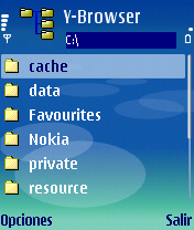 Symbian Y-Browser freeware