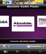 Absolute Radio Player