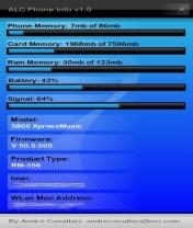 Symbian ALC Phone Info freeware