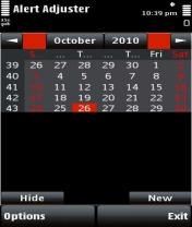 Symbian Alert Adjuster freeware