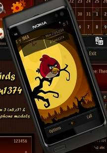 Symbian Angry Birds theme freeware