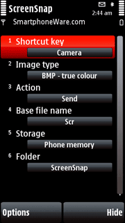 Best Screen Snap for Symbian S60 5th Edition
