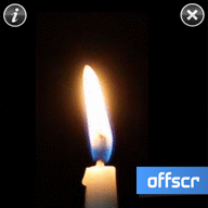 Symbian Candle Touch freeware