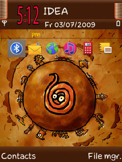 Symbian Cartoon Theme freeware