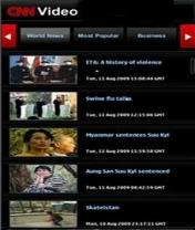 Symbian CNN Video freeware