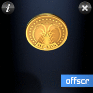 Symbian Coin Toss Touch freeware