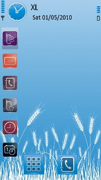 Symbian Cold Theme  freeware