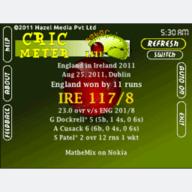Symbian CricMeter LITE freeware