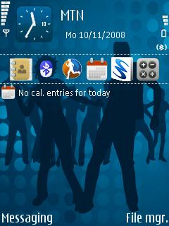 Symbian Disco theme freeware