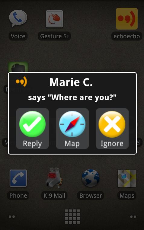 Symbian EchoEcho freeware