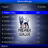Symbian English Premier League freeware