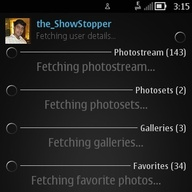 Symbian FlickrUp freeware