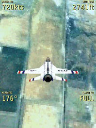 Symbian Freeflight 3D Flight Simulator freeware