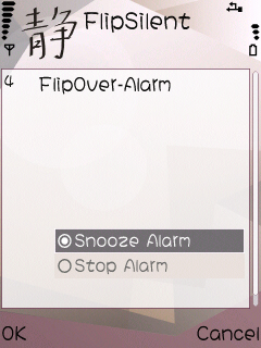 Flipsilent profile and call manager