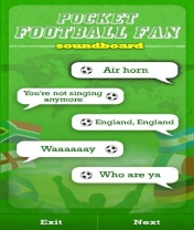 Symbian Pocket Football Fan freeware