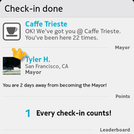 Foursquare for MeeGo