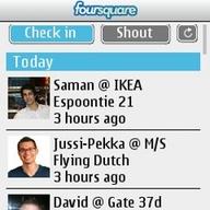Symbian Foursquare for Series 40 freeware