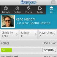 Symbian Foursquare for Symbian freeware