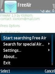 Symbian FreeAir freeware