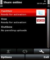 Symbian Frutiv Twitter  freeware