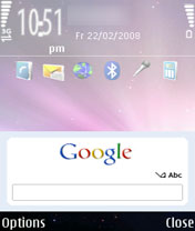 Symbian Google Search from Nokia freeware