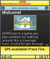 Symbian GPS Mission freeware