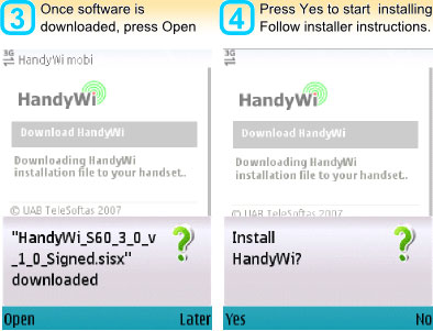 برنامج HandyWiFi يمكنك من الإتصال بالنت مجانا