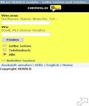 Symbian Herold Widget freeware