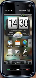 Symbian HTC Sense Theme freeware