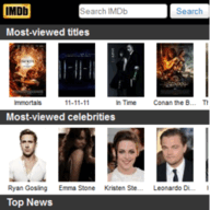 Symbian IMDb Movies and TV freeware