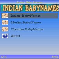 Symbian Indian BabyNames freeware