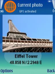 Symbian locr GPS Photo freeware