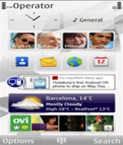 Symbian Mippin Homescreen freeware