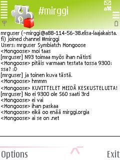 Symbian mIRGGI freeware