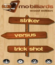 Mo Billiards Wood Edition