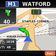 Symbian NDrive Navigation freeware
