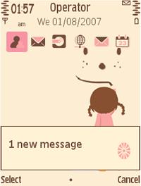 Symbian Painting Theme freeware
