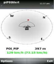 Symbian piPOI Alert freeware