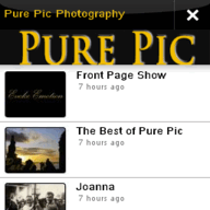 Symbian Pure Pic Photography freeware