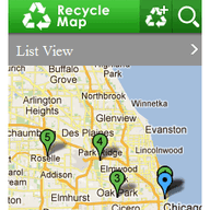 Symbian Recycle Map freeware