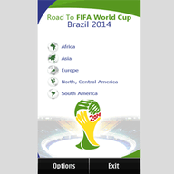 Symbian Road To Brazil 2014 freeware