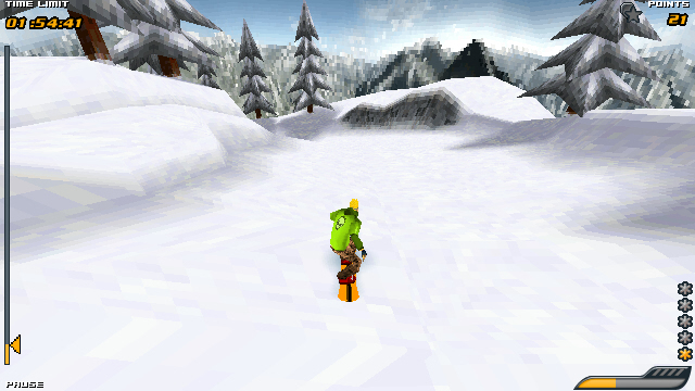 Symbian Snowboard Hero freeware