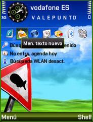 Symbian Strange World Theme freeware