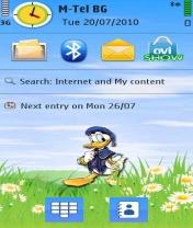 Symbian Donald Theme freeware