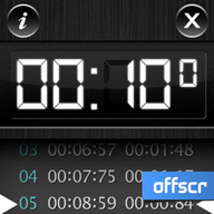Symbian Timer Touch freeware