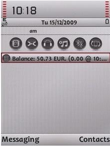 Symbian Touch Balance freeware