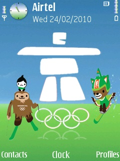 Symbian Vancouver Olympics Theme freeware