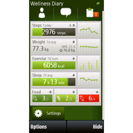 Symbian Wellness Diary Beta freeware